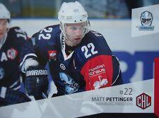 340 Matt Pettinger Hamburg Freezers CHL 2014-15
