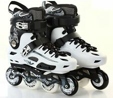 NEW JINFENG S500 Roller Blades Inline Skates Size44 Men9.5-10 Women10.5-11White
