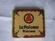 La Paloma Princess, Neuhaus Zigarren Zigarillos, Blechschachtel, Dose