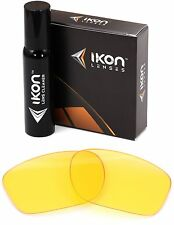 Polarized IKON Replacement Lenses For Oakley Sliver Sunglasses HD Yellow