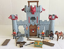 Playmobil Red Wolf Take Along Castle Tower with Knights and  Accessories