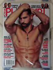 PLAYGIRL Summer 2015 DIONISIO Full Frontal FLORIDA Hottest DANCERS Dirk Shafer