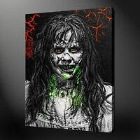 THE EXORCIST CANVAS WALL ART PICTURES PRINTS FREE FAST UK DELIVERY