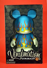 "Disney Vinylmation 9"" Urban 4 Blue Flames New In Box NIB LE 600"
