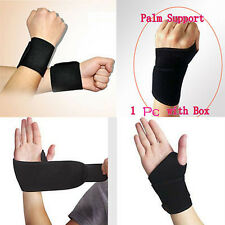 New 1Pcs Magnetic Heat Thumb Loop Splint Wrist Brace Support Strap Pain Relief