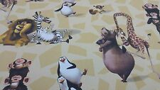 Disney Licensed Madagascar Marvel Comic Cartoon Cotton Curtain Craft Fabric