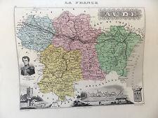 LA FRANCE ET SES COLONIES DEPARTEMENT DE L'AUDE VOIR DESCRIPTIF