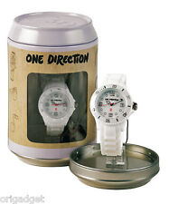 OROLOGIO ONE DIRECTION UFFICIALE 1D CLOCK WATER RESISTANT IN LATTINA S01 bianco