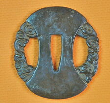 Antique Old Japan Japanese Tsuba for Katana Wakizashi Sword
