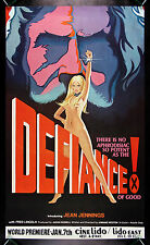 DEFIANCE OF GOOD * CineMasterpieces ORIGINAL MOVIE POSTER 1975 X RATED ADULT