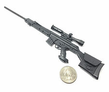 1/6 Scale PSG1 Semi-Automatic Sniper Rifle Gun Model Heckler & Koch German Army