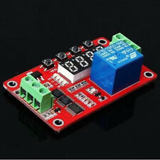 FRM01 Multifunction Self-lock Relay Cycle Timer Module PLC Delay 12V Hot