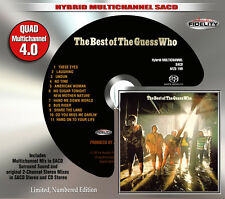 The Guess Who Best of Audio Fidelity Numbered Ltd. Ed. Hybrid Multichannel SACD