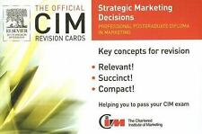 CIM Revision Card: Strategic Marketing Decisions (Official CIM Revision Cards)