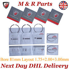 VW PASSAT 2003 ON TOURAN 2003-2010 2.0 TDI 16V 4MOTION 4 PISTON RING SETS