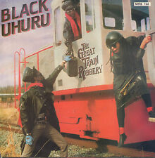 "BLACK UHURU ‎– The Great Train Robbery (1986 REGGAE VINYL SINGLE 7"" HOLLAND)"