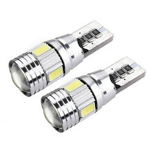 1set T10 501 94 W5W 5630 LED SMD Car HID Canbus Error Free Wedge Light Bulb Lamp