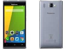 Panasonic India Warranty Panasonic P66 MEGA Duos Dual 16GB 2GB 8MP SilverGrey