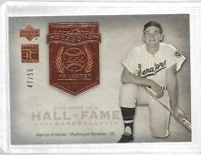 2005 Upper Deck Hall of Fame - HARMON KILLEBREW - HOF Seasons #HK1 - TWINS #d/50