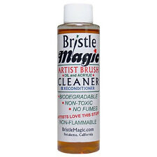 Bristle Magic Artists Brush Cleaner 250ml Non Toxic Biodegradable Non Flammable