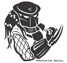 "'""PREDATOR""' Vinyl Decal  Sticker HOME CAR BIKE LAPTOP"