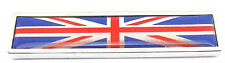 UK Britain British England Map Flag Emblem Badge Car Body Metal 3D 3M Decal UK