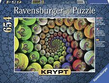 RAVENSBURGER PUZZLE*654 TEILE*KRYPT COLORFUL SPIRAL*RARITÄT*NEU+OVP