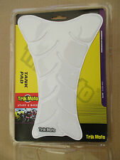 TRIK MOTO CLEAR TRANSPARENT TANK PAD KIT TANK SPINE GEL CLEAR TANK PROTECTOR