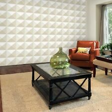 3D Wall Panel Cairo 12 Tiles 32sqft Paintable Home Decoration EcoFriendly