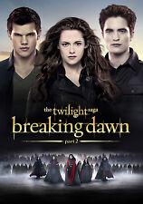 Impresión de película Enmarcado-la saga de Twilight Breaking Dawn Parte 2 (Imagen Arte Cartel)