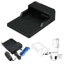 "SEATRY 2.5"" & 3.5"" SATA USB 3.0 HDD Hard Drive Docking Station Enclosure Black"