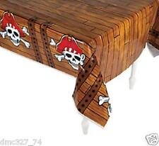 1 PIRATE Jolly Roger Everyday Birthday Party Decoration TABLE COVER Tablecover
