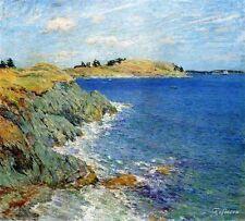Willard Leroy Metcalf Ebbing Tide Handmade Landscape Oil Painting repro