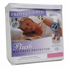 Protect A Bed Waterproof Plush Mattress Protector Twin Size