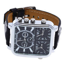Gents Oversized Watch/Large Face and Rubber Strap Sport Army Wristwatch