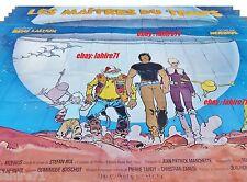 LES MAITRES DU TEMPS ! affiche geante 4x3m !! r laloux rare  moebius giraud , bd