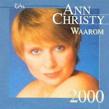 ★☆★ CD Single Ann CHRISTY Waarom 2000 3-track CARD SLEEVE EUROVISION STAR   ★☆★