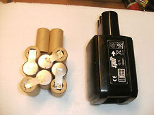 1 Kit batterie Spit , AEG , Wurth ,berner ( 1 kit batteria battery ,akku)