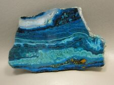 Chrysocolla Malachite 3.75 inch Polished Slab Rock Stone Arizona #1