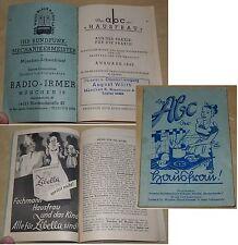 DAS ABC DER HAUSFRAU Deutsche Handelswerbung M.Kapfer München Ausgabe 1949