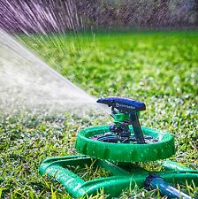 LONG RANGE IMPULSE SPRINKLER SYSTEM - Sturdy Sprinklers Water Entire Yard/Lawn