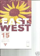 Image Comic EAST OF WEST #15 Jonathan Hickman