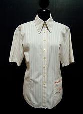 ROCCOBAROCCO Camicia Donna Cotone Cotton Woman Shirt Sz.M - 44