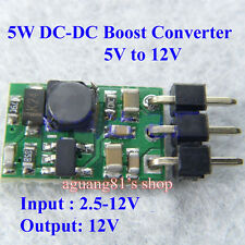 5W DC-DC Boost Converter Step Up 5V to 12V Power Module für Mobile Power LED