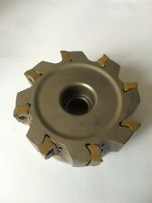 TaeguTec 100mm Face Mill Cutter Coolant Through TFM90AN 8100-32R 16 MILLING #24