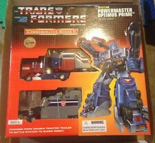 Trans Formers Commemorative Series II Powermaster Optimus Prime Apex Armor MISB