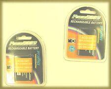 TWO 2X Batteries DMW-BCK7 DMW-BCK7E DMW-BCK7PP for Panasonic FS14 FS16 FS18 FS22