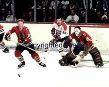 1971 Stanley Cup Blackhawks Canadiens Tony Esposito- Stapleton-Color  8x10