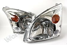 2003-2008 TOYOTA Land Cruiser FJ120 Prado Headlights PAIR 2004 2005 2006 2007