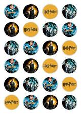 24 Harry Potter Edible Cupcake Fairy Cake Toppers Rice Paper